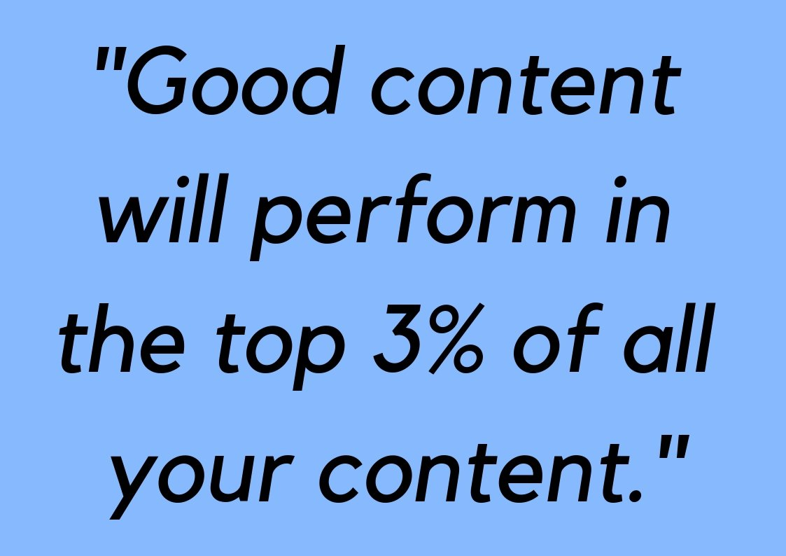good quality content marketing