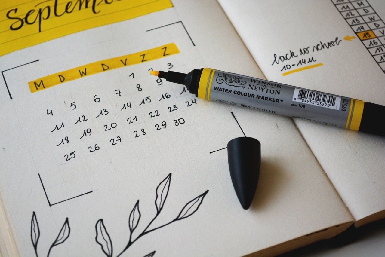 editorial calendar image