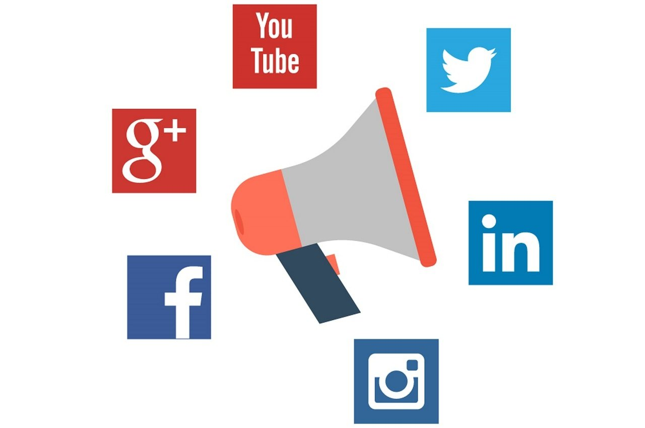 promoting content social media image