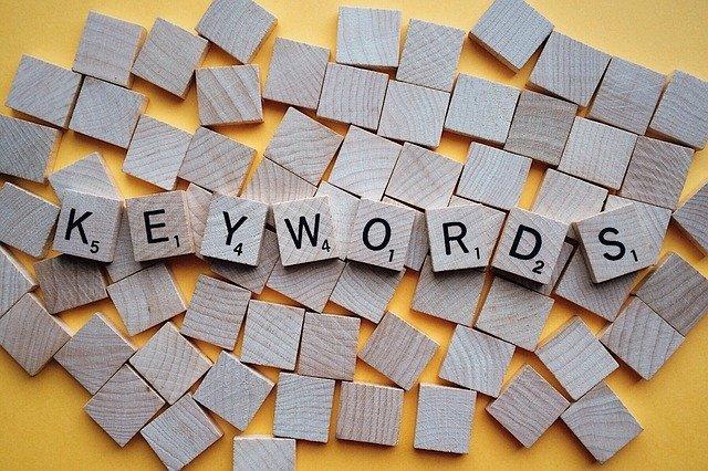 finding keywords
